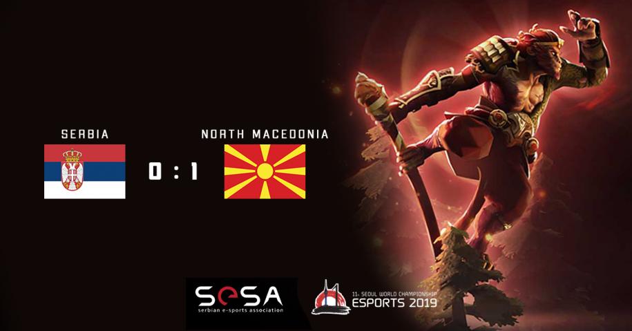 Prijateljski Dota 2 meč između Srbije i Severne Makedonije