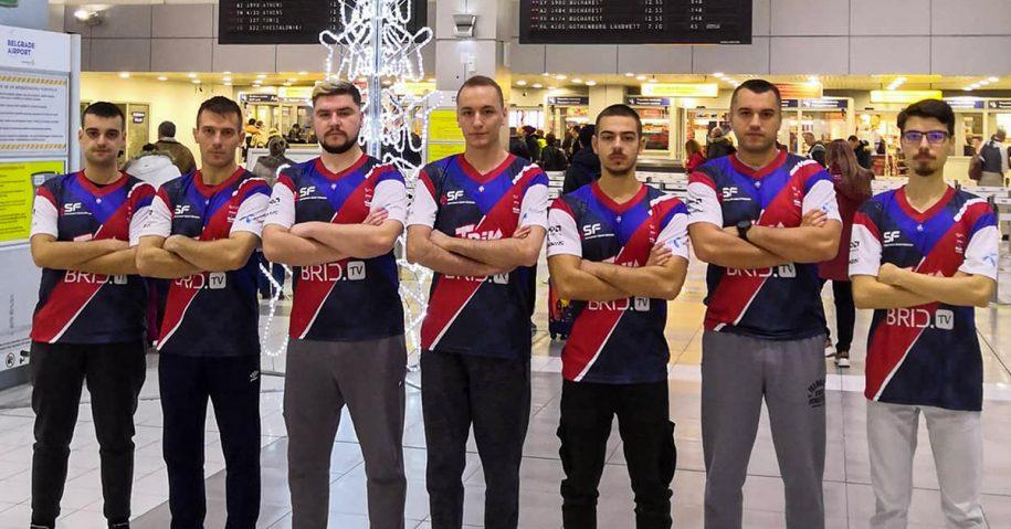 Srpski predstavnici završili učešće na svetskom IeSF prvenstvu