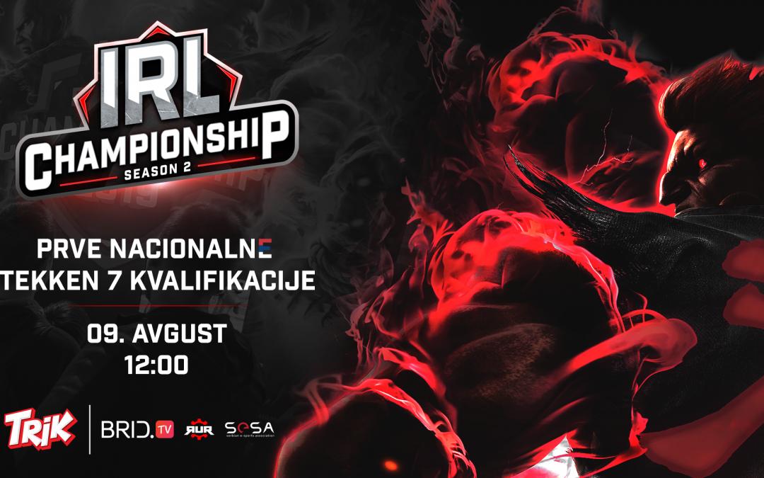 IRL 2020 – Prve nacionalne Tekken 7 kvalifikacije za Svetsko IeSF prvenstvo