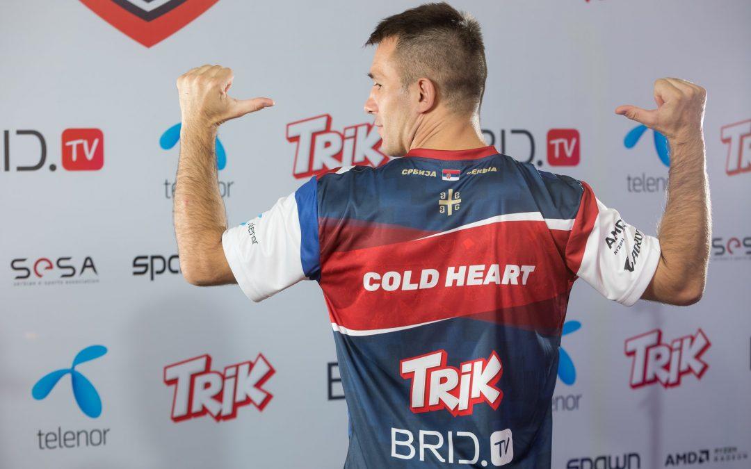 Vlada Coldheart ponovo brani titulu najboljeg Tekken borca Srbije – Vidimo se na IeSF šampionatu!