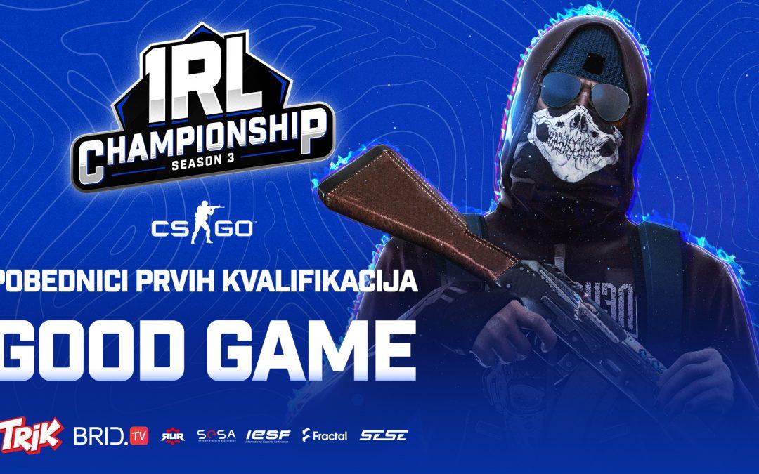 Good Game je pobednik prvih CS:GO kvalifikacija za svetsko IeSF prvenstvo