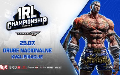 Pred vama su druge Tekken 7 kvalifikacije za IeSF Svetski šampionat – Prijavite se!