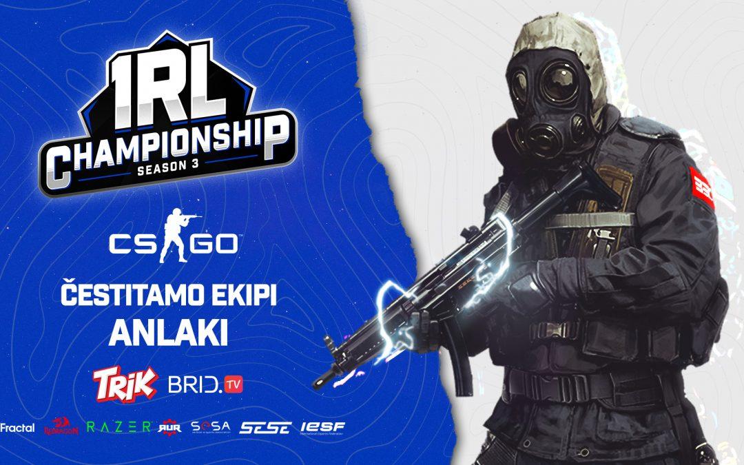 Anlaki je pobednik finalnih CS:GO kvalifikacija za IeSF Svetski šampionat